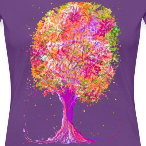 Wachstum - Frauen Premium T-Shirt