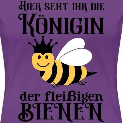 Danke Sagen Fleißige Biene Königin Spruch - Frauen Premium T-Shirt