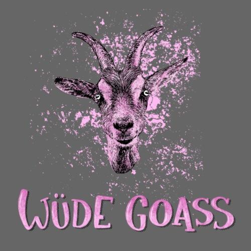 Wüde Goass - Frauen Premium T-Shirt