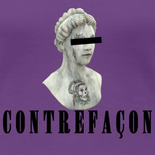 Contrefaçon - T-shirt Premium Femme