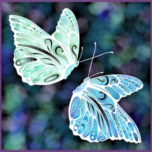 Farfalle - Maglietta Premium da donna