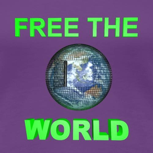 Free the World - T-shirt Premium Femme