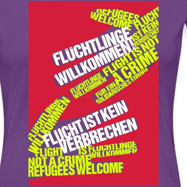 Flüchtlinge Willkommen r