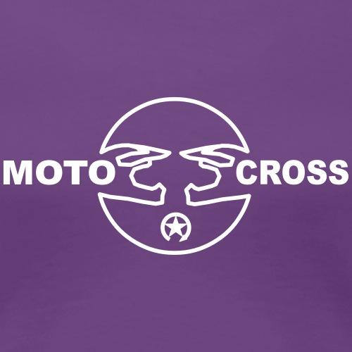 Motocross helmet 8MX08 - Women's Premium T-Shirt