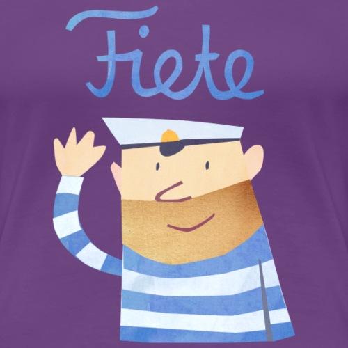 'Hello' Fiete Baby Longsleeve - white - Frauen Premium T-Shirt