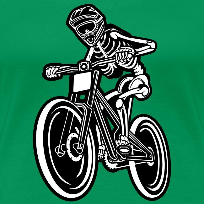 BMX / Mountain Biker 04_schwarz weiß