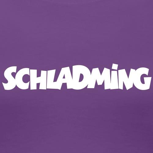 Schladming Steiermark Österreich - Frauen Premium T-Shirt