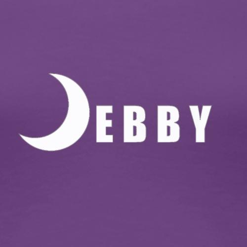 DEBBY - WHITE LOGO - Maglietta Premium da donna