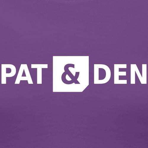 PAT & DEN logo 0PD02 - Women's Premium T-Shirt