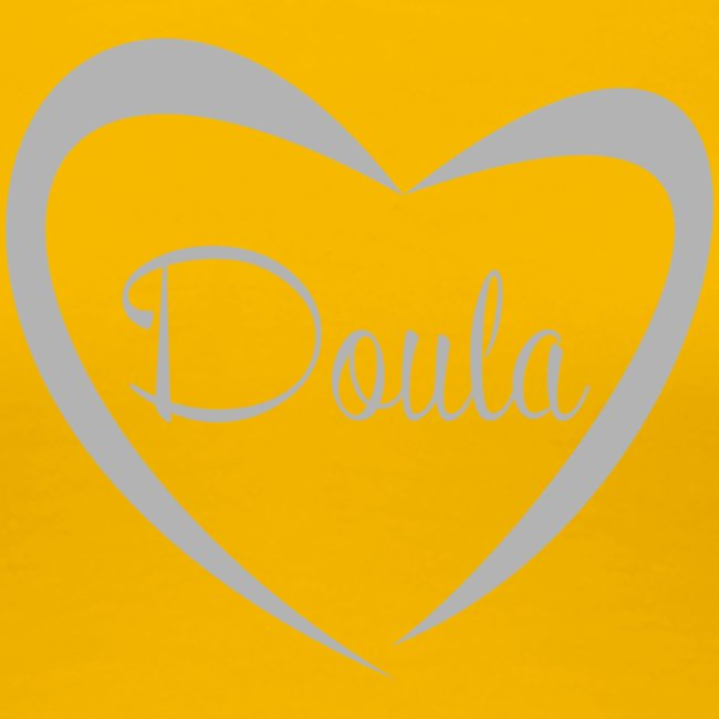 doula sydän harmaa