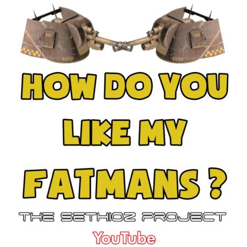How do you like my Fatmans? - Women's Premium T-Shirt