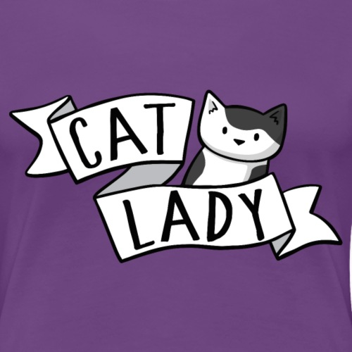Cat Lady Pixie - Women's Premium T-Shirt