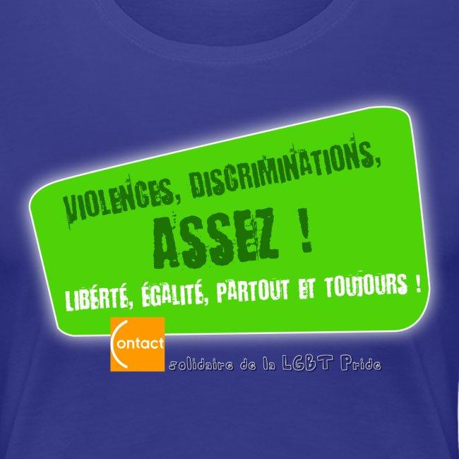 LGBT Pride Paris 2010 - Violences, discriminations