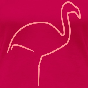 flamingo - Women's Premium T-Shirt