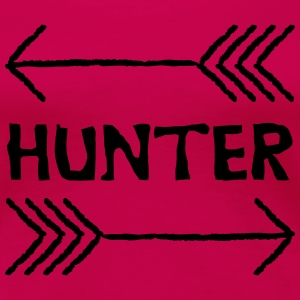 Hunter pile - Dame premium T-shirt