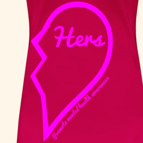 Her piece of heart. - Women's Premium T-Shirt