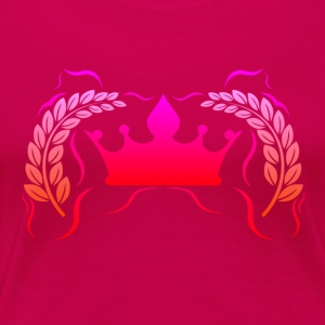 Royal Gamer Pink by JuiceMan Benji - Women's Premium T-Shirt