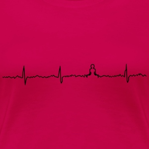 Heart beat relaxation - Women's Premium T-Shirt