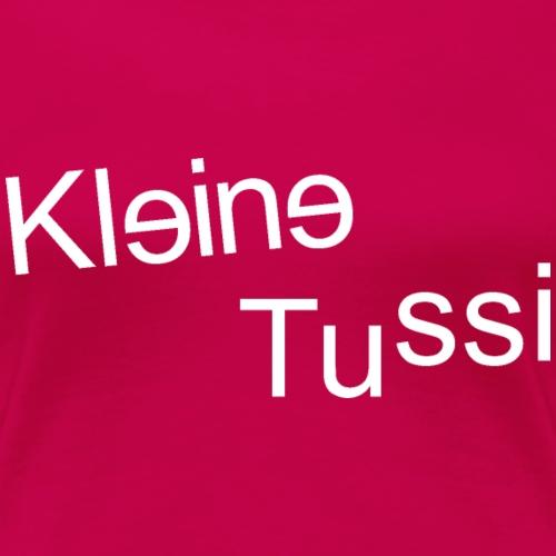 Kleine Tussi - 03 - Frauen Premium T-Shirt