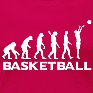 Evolution BASKETBALL wt - Women's Premium T-Shirt