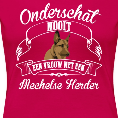 Mechelse Herder - Vrouwen Premium T-shirt