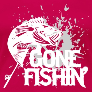 Gone Fishin - Fishing - Frauen Premium T-Shirt