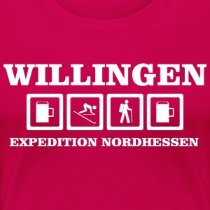 EXPEDITION NORDHESSEN WILLINGEN - Frauen Premium T-Shirt