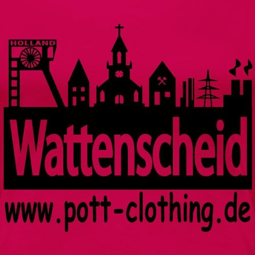 Skyline Wattenscheid - RPC Spezial - Frauen Premium T-Shirt