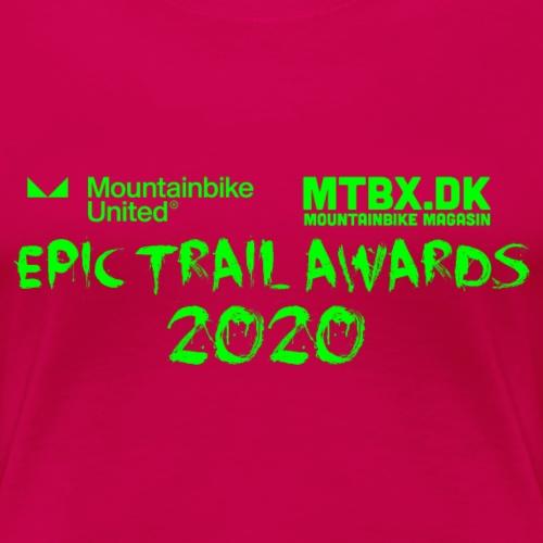 Epic trail Awards - Dame premium T-shirt