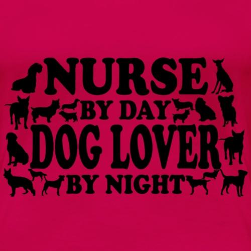 witziges krankenschwester hunde t shirt geschenk - Frauen Premium T-Shirt