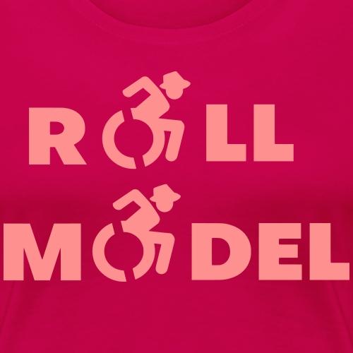 Rolstoel roll model 003 - Vrouwen Premium T-shirt