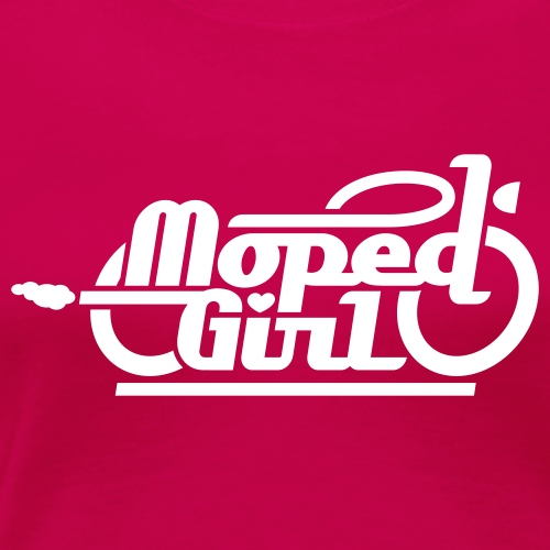 Moped Girl / Mopedgirl (V1) - Women's Premium T-Shirt