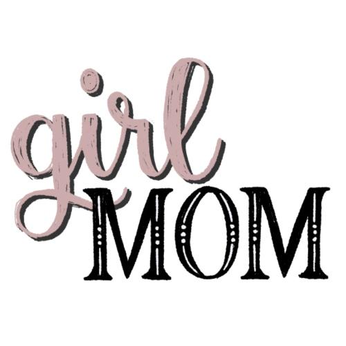 Schriftzug Girl Mom - Frauen Premium T-Shirt