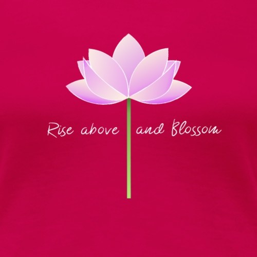 Blossom Simple - T-shirt Premium Femme