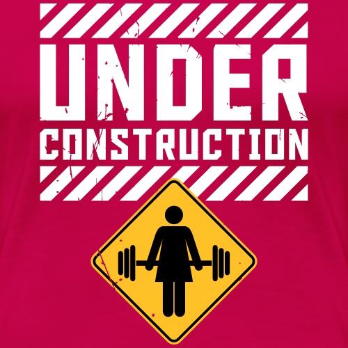 Msr. UNDER CONSTRUCTION - Frauen Premium T-Shirt
