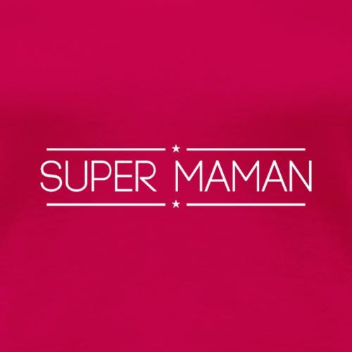 Logo Super Maman - Blanc
