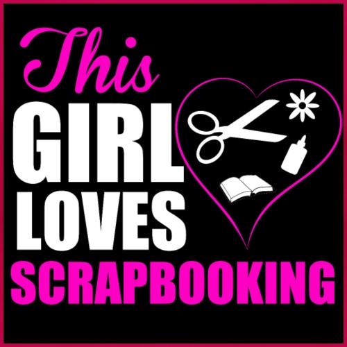 Scrapbooking - T-shirt Premium Femme