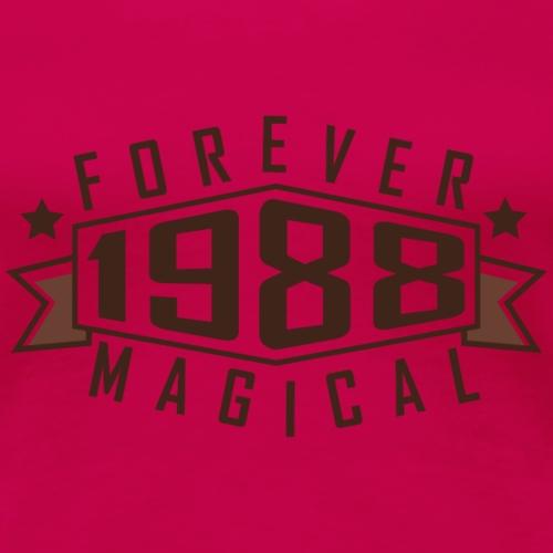 1988 - Forever magical - Frauen Premium T-Shirt