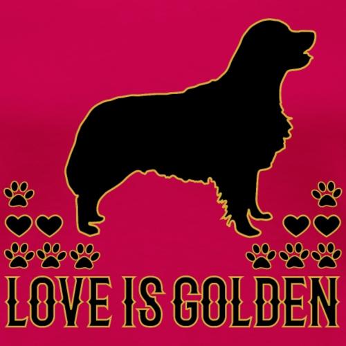 Golden Retriever Hundeshirt - Frauen Premium T-Shirt