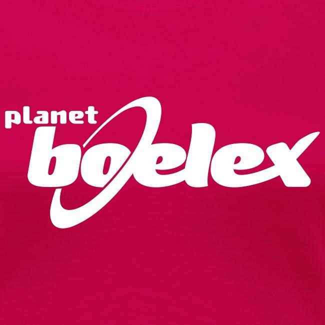 Planet Boelex v logo white