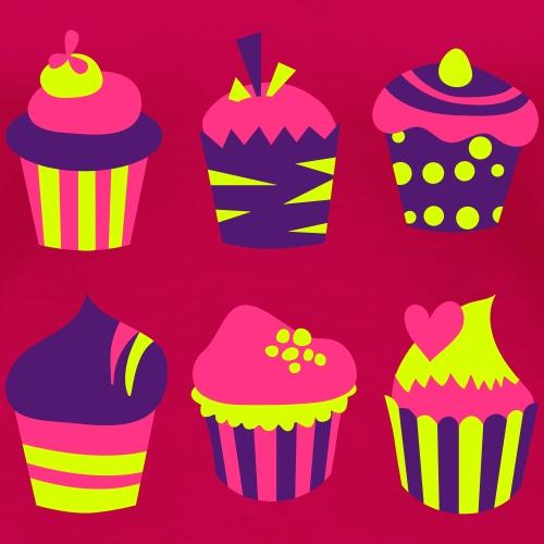 Cupcakes bien-être - T-shirt Premium Femme