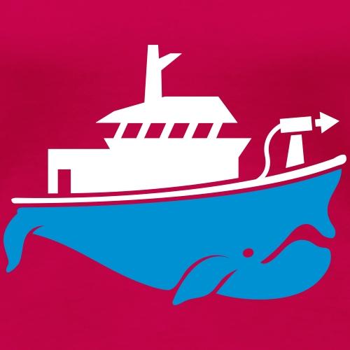 Sauver les Baleines - T-shirt Premium Femme