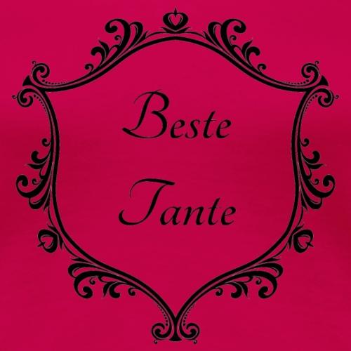 Beste Tante - Frauen Premium T-Shirt