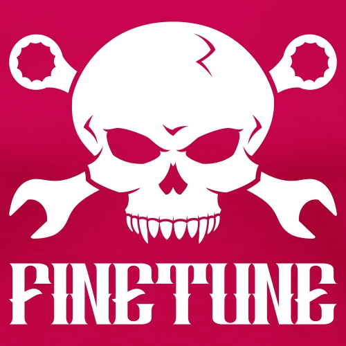 Skull 'n' Tools 2 - Finetune - Women's Premium T-Shirt