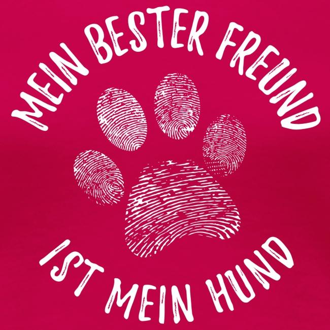 Vorschau: Mein Hund Bester Feund - Frauen Premium T-Shirt