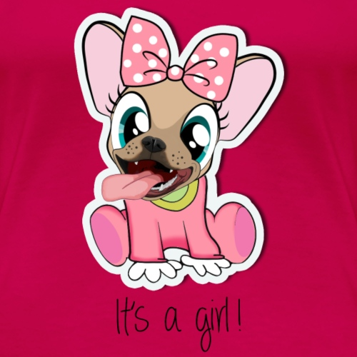 Baby Naya - It's a Girl - T-shirt Premium Femme