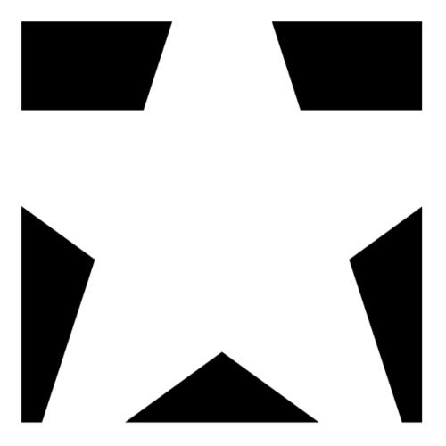 Minimal Stars pieces Black