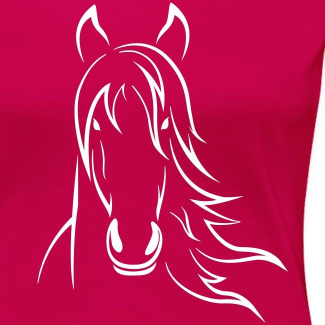 Vorschau: Horse - Frauen Premium T-Shirt