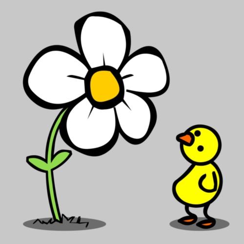 Vogel Blume - Frauen Premium T-Shirt