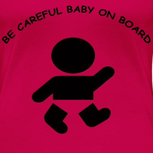 babyonboard - Women's Premium T-Shirt